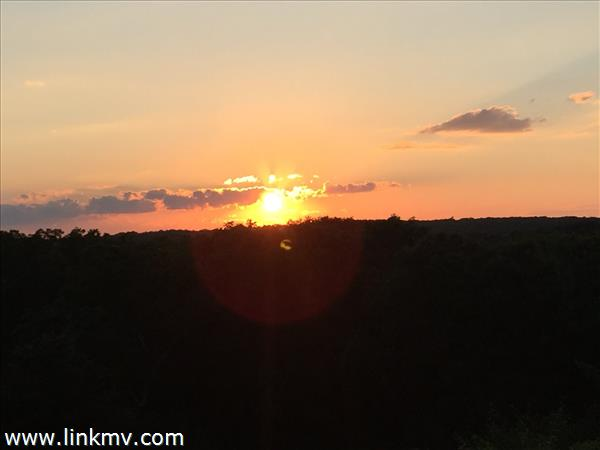 Sunset from Property