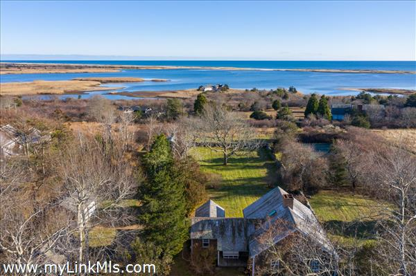 Overlooking Chilmark Pond and Beyond