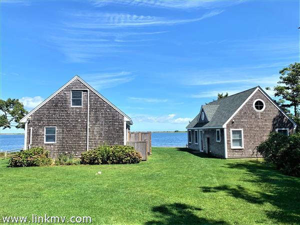 Two remodeled cottages on the shore of Sengkontacket Pond!