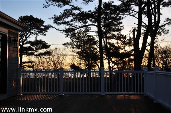 Winter Water Views of Harthaven Harbor and Nantucket Sound.