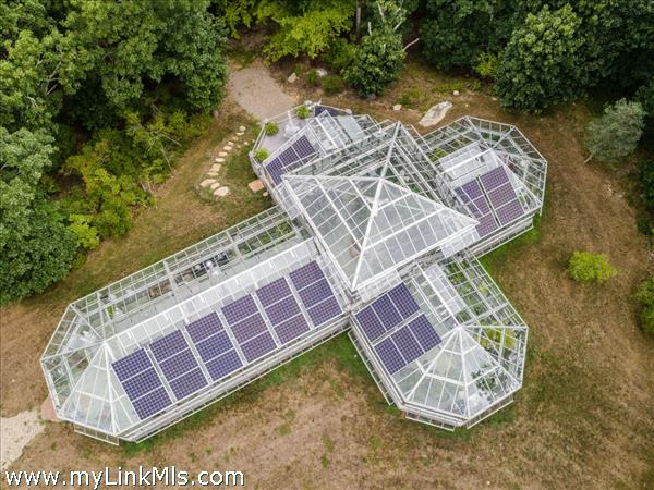 Greenhouse and Large Orchard