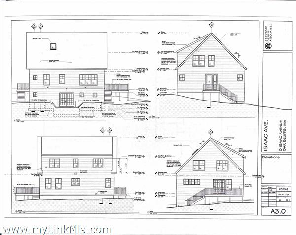 11 Isaac Avenue - Exterior building plans