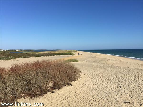 South Beach and over sand route access to Norton Point is 1/4 mile from house.