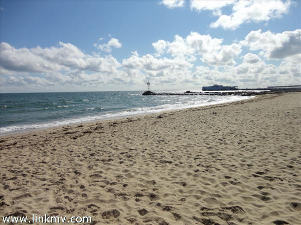 Walk .5 mile to Jetty Beach, one of the best kept secret beaches in Oak Bluffs.