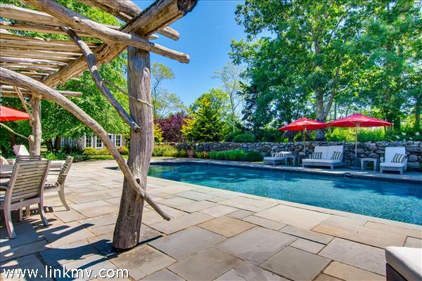 Imagine summer days around the pool