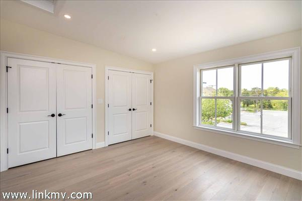 Example of Master Bedroom with Double Closets