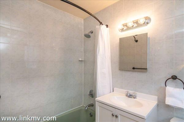 Master Bath Has Tub and Shower Combination - Second Floor