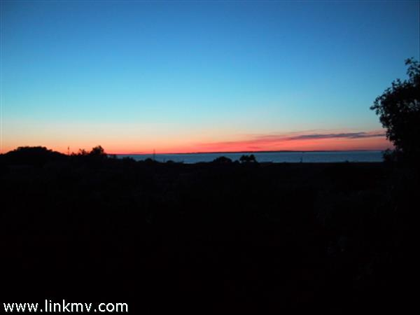 Beautiful water view Martha's Vineyard sunsets from your deck
