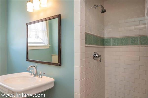 Master Bath Has Tiled Shower - Second Floor