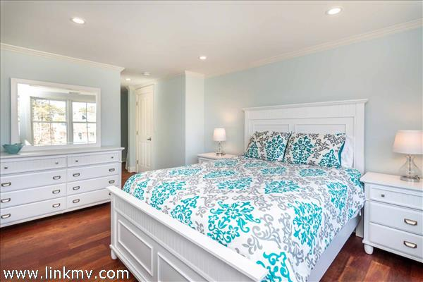 Master Suite 2 Has King Bed and Private Bath - Second Floor