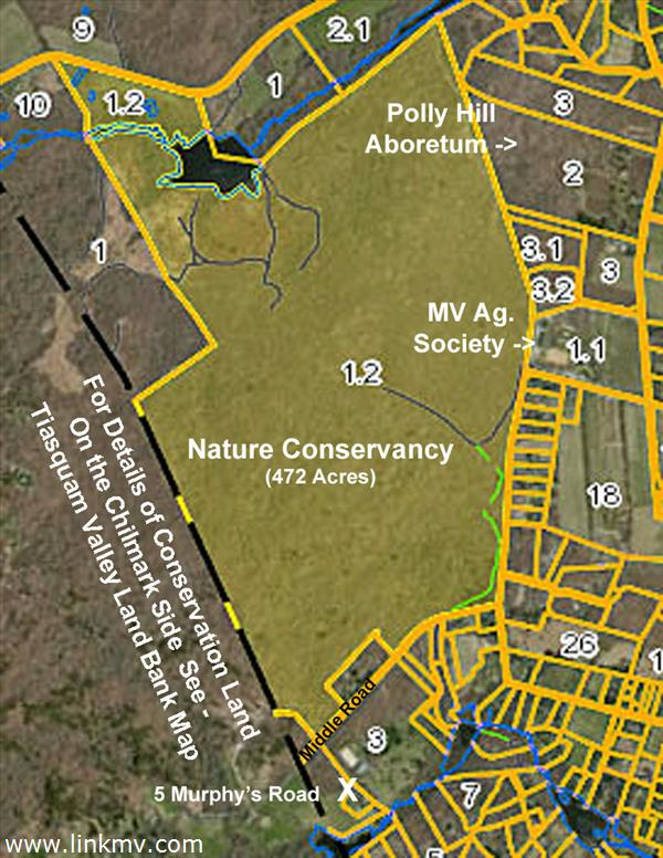 Conservation Land Surrounding Property