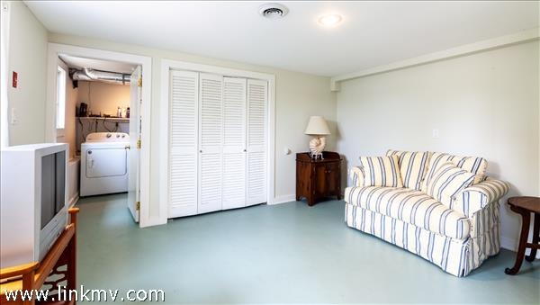 A bonus space on the first floor can serve as a playroom, media room or extra sleeping space.