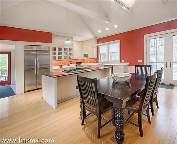 Great room - dining to kitchen.