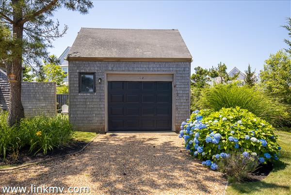 One garage detached garage