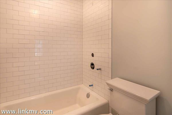 Master Bath Has Tub and Shower Combination