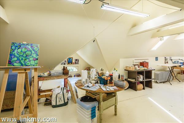 More studio space.