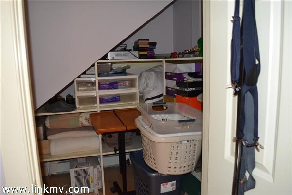 closet off separate bedroom