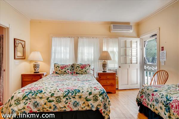 1st floor bedroom #1 with private entrance