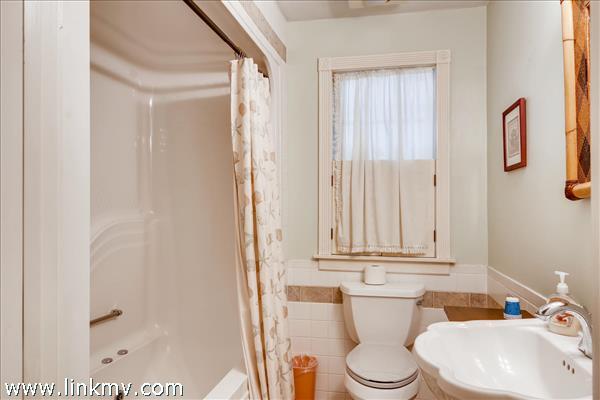 1st floor shared bath for bedroom #2
