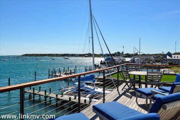 Edgartown Harbor View From Ferry House Second Floor Deck
