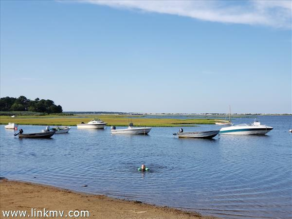 Boat ramp, moorings, ?swim, clam, fish