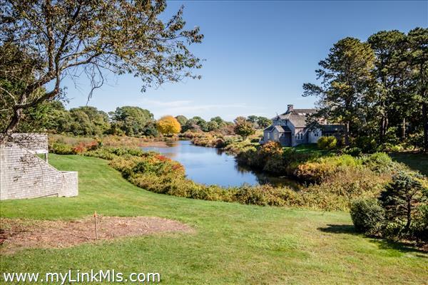 Wonderful views of Sengekontacket Pond...
