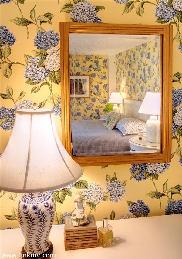 Bedroom in older section