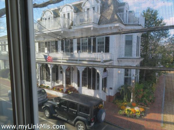 A Victorian Inn across the street.