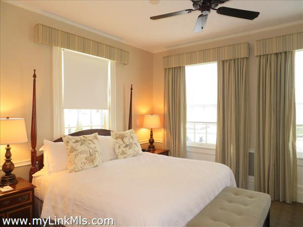 Large bedroom in main area.