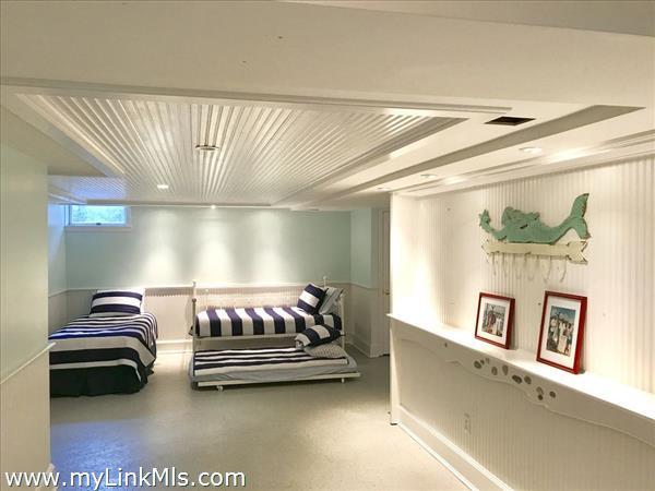 Basement sleeping area