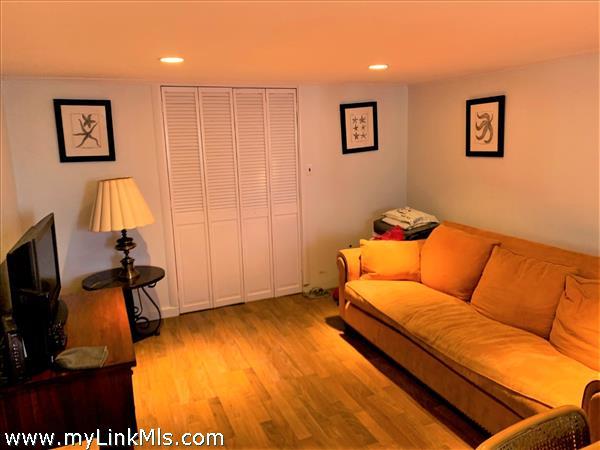 Living room with pergo flooring