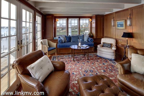 Ferry House Study with built in twin sofa bed