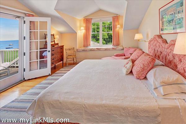 Main house guest bedroom suite on second floor