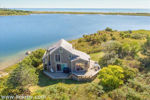 138B State Road, Chilmark MA 02535 - the guest house