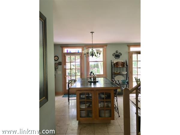 Kitchen from Entry Hall