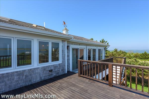 Views to Chappaquiddick Island, Katama Bay, and the Atlantic Ocean