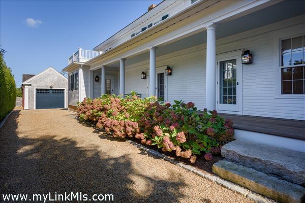 Side porch/entrance