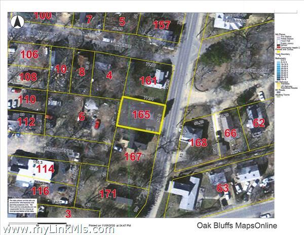 165 Circuit Avenue Oak Bluffs MA