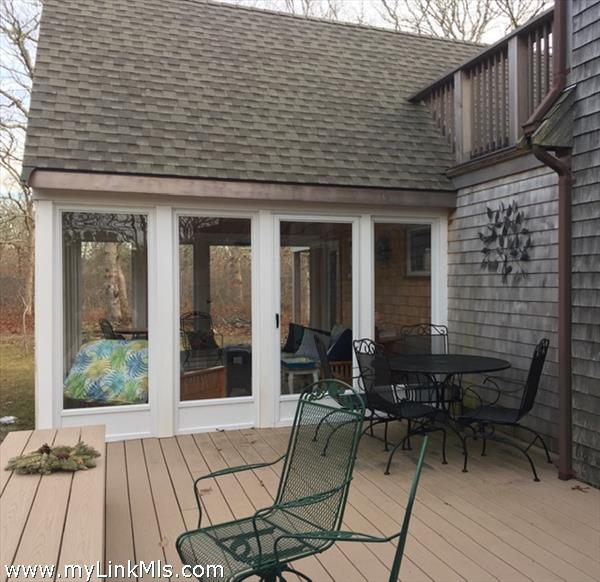 New Back Deck and 3-Season Porch/Sun Room