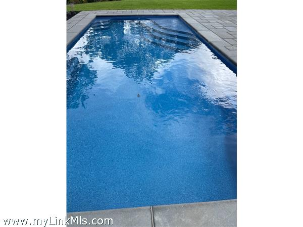 pool with bluestone surround
