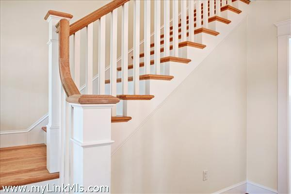 sample stairway banister